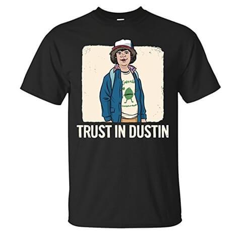 camiseta dustin