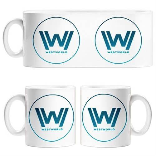 taza logo westworld