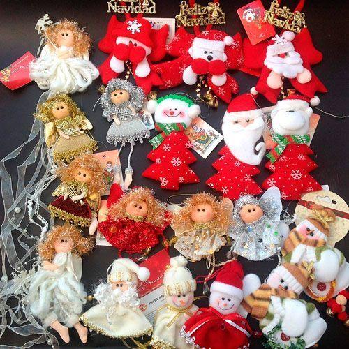 adornos muñecos para el arbol navidad