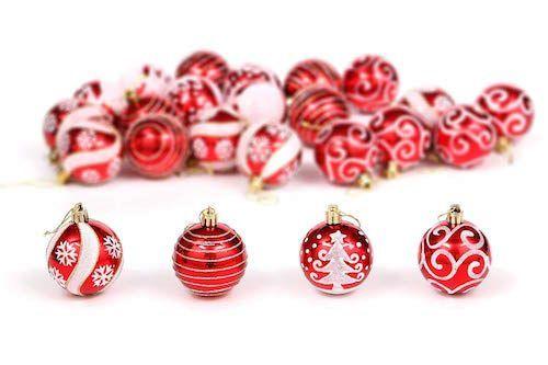 24 bolas de Navidad