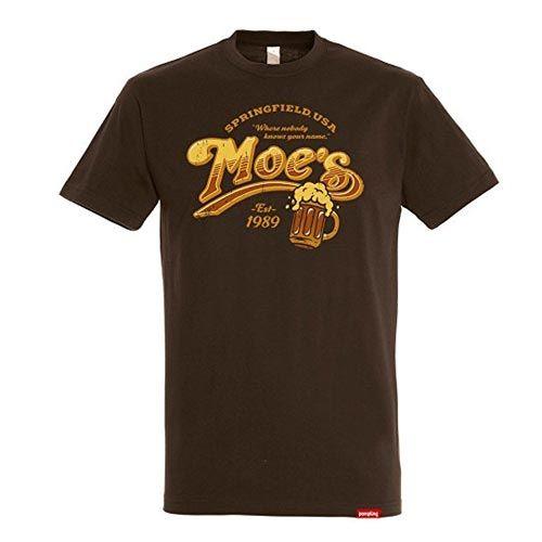 camiseta cerveza taberna moe