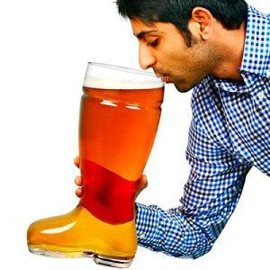 jarra cerveza bota