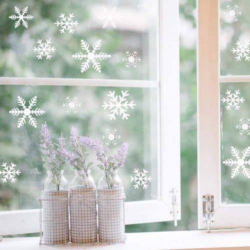 pegatina copos de nieve