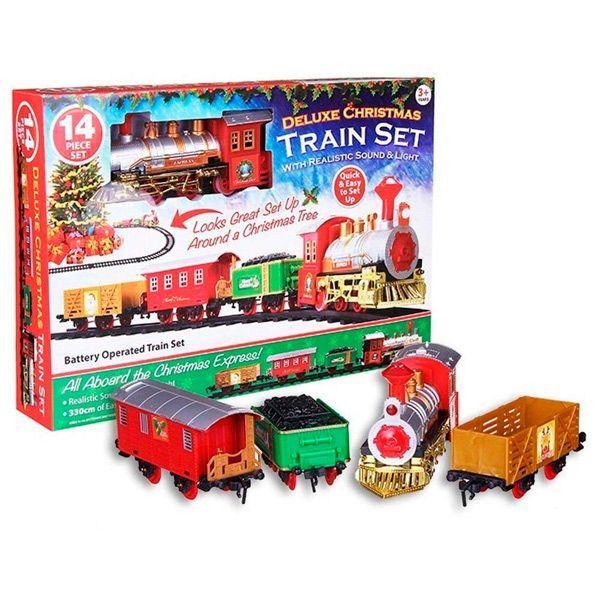 tren Navidad con sonido