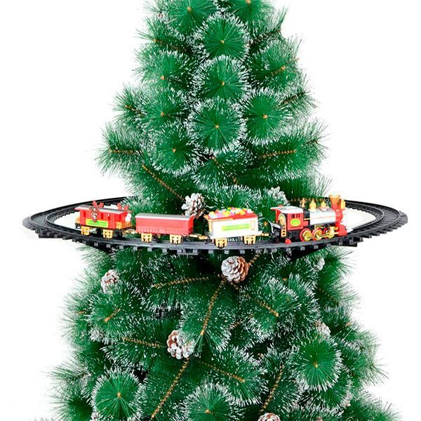 tren para colgar árbol de Navidad