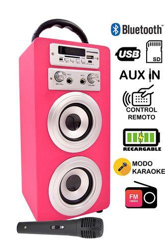 Reproductor y Karaoke portátil