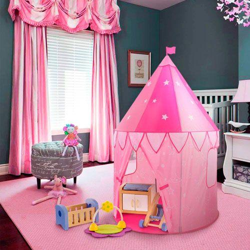 tienda de campaña de princesas
