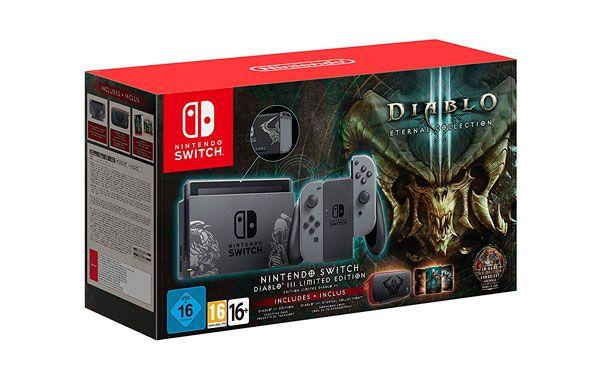 Pack Nintendo Switch Edición Limitada Diablo III