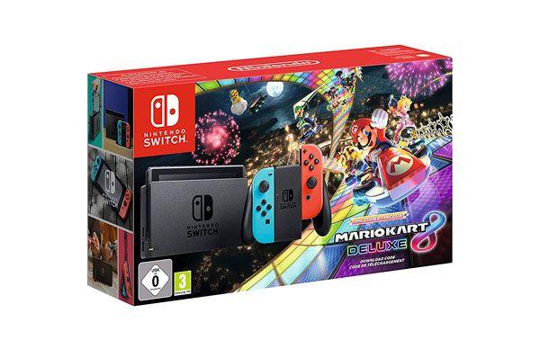 Pack Nintendo Switch + Mario Kart 8 Deluxe Bundle