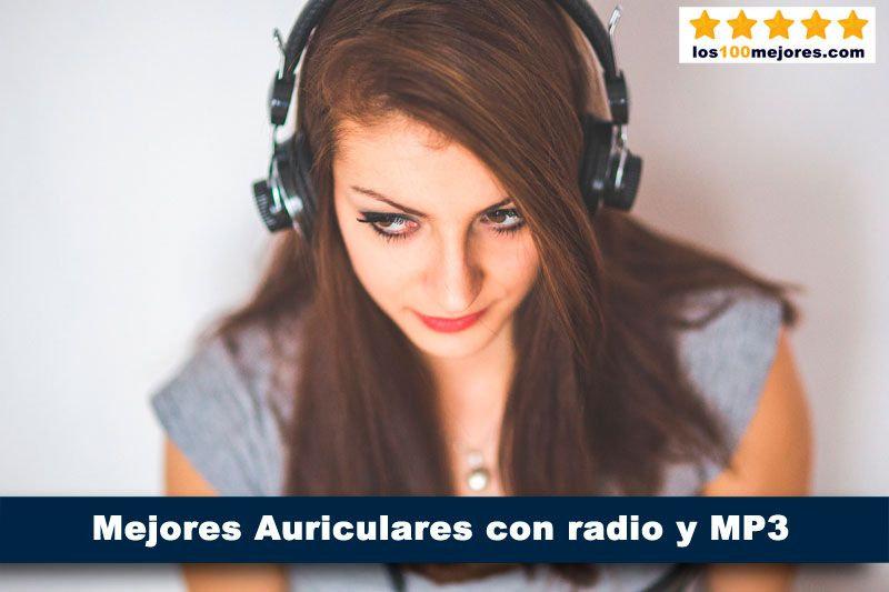10 Mejores auriculares Bluetooth con radio FM y MP3 integrado 2019