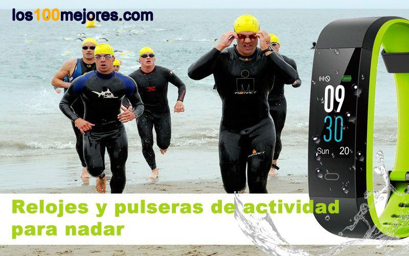 mejores relojes y pulseras de actividad para nadar