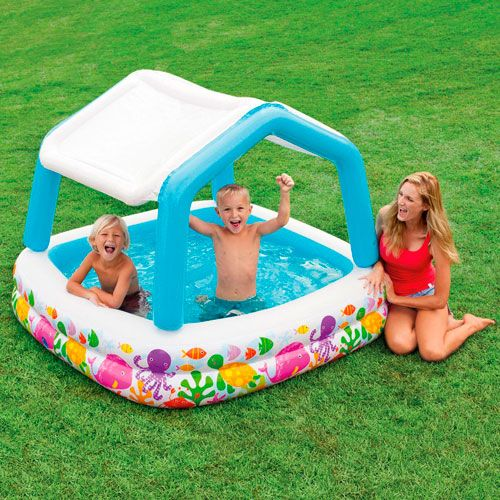 Piscina hinchable con sombra Intex