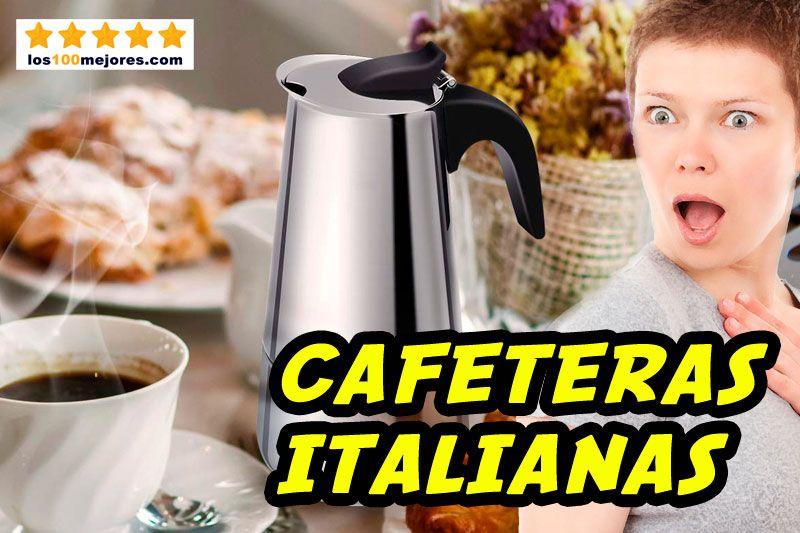 mejores cafeteras italianas