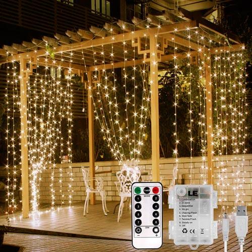 Cortina de Luces LED Lighting Ever