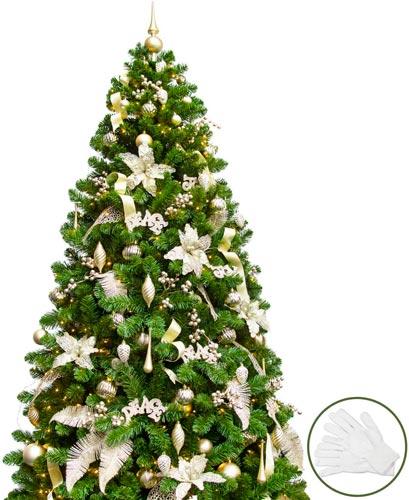 árbol Navidad champán