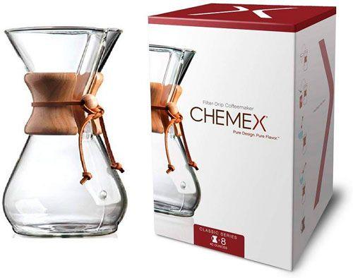 cafetera chemex 8 tazas
