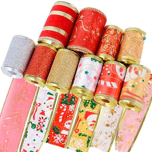 cintas decoracion navidad