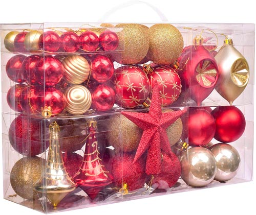 set adornos de Navidad