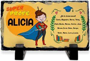 Placa Fotopiedra Personalizada