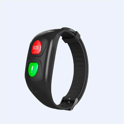 Pulsera inteligente para mayores con GPS