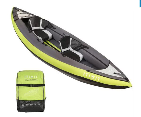 kayak hinchable decathlon Itiwit