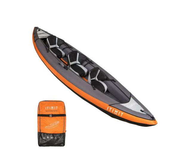 kayak itiwit 2 o 3 personas