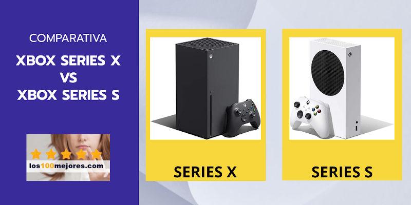 comparativa Xbox Series X vs Series S