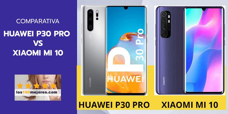 huawei p30 pro vs xiaomi mi 10