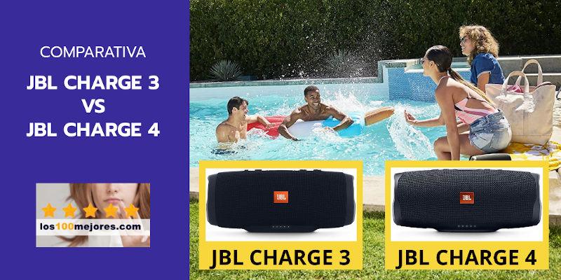 JBL Charge 3 vs JBL Charge 4