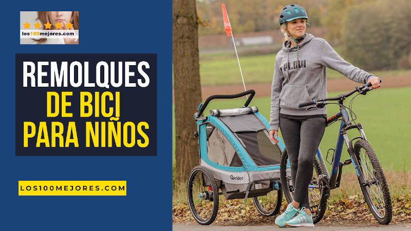 mejores remolques de bici para niños