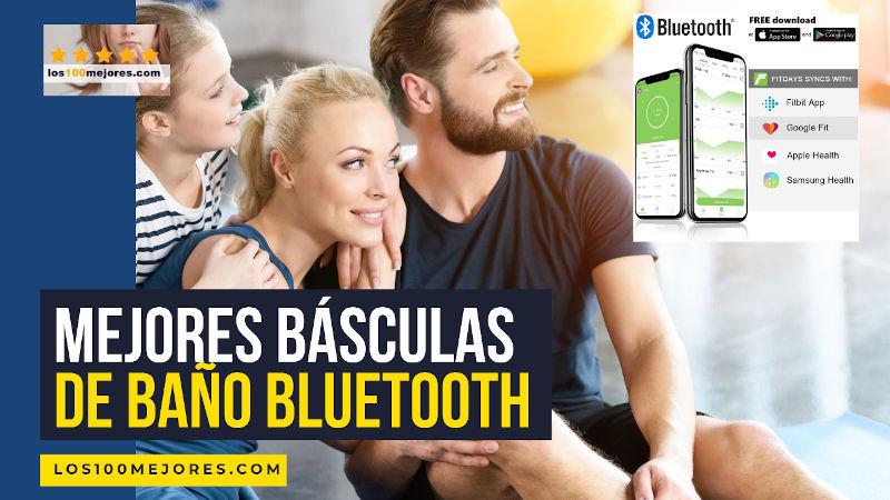 mejores básculas de baño bluetooth
