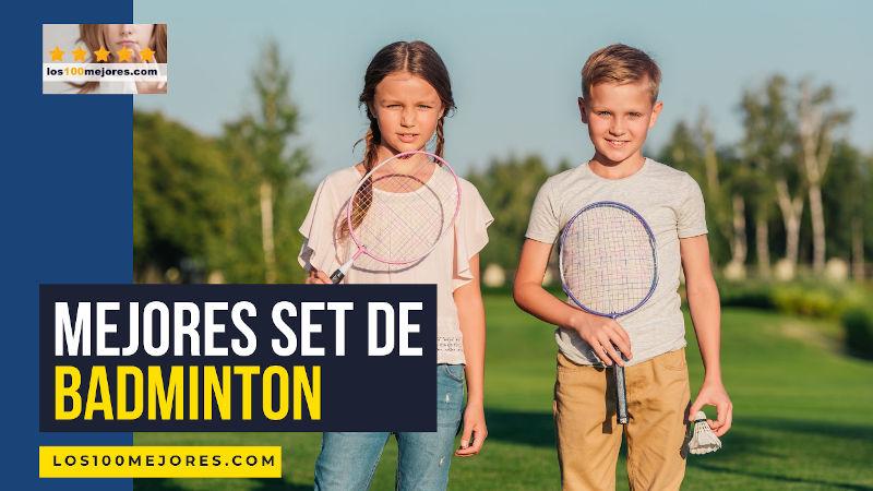 mejores set de badminton