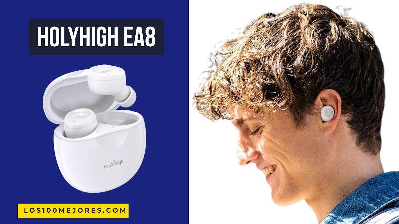 HolyHigh EA8: mejores auriculares Bluetooth por 15€ vaya chollo