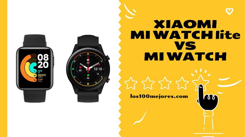 Xiaomi Mi Watch Lite vs Mi Watch