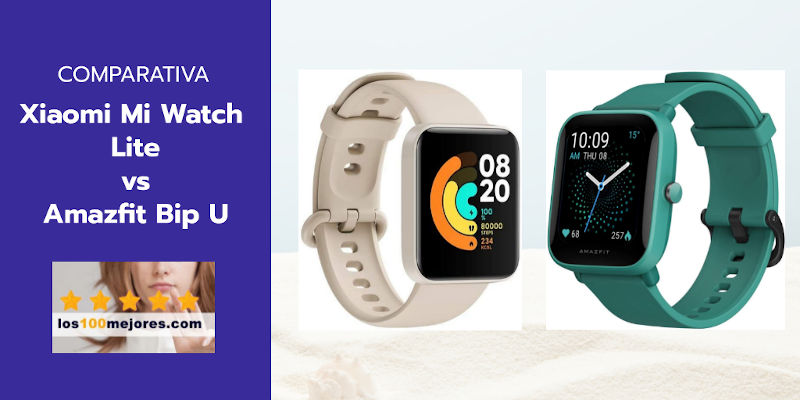 Xiaomi Mi Watch Lite vs Amazfit Bip U