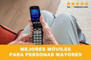 Los 7 mejores teléfonos móviles para personas mayores 2019.