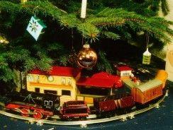 Mejores trenes para el árbol de Navidad 2019.