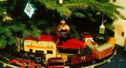 Mejores trenes para el árbol de Navidad 2018.
