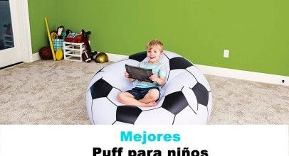 Mejores puff para niños, los más originales y baratos.