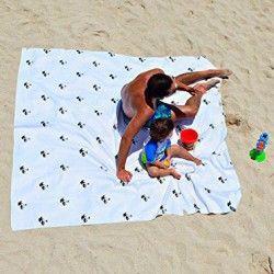 Toalla playa gigante 1,88×1,88.
