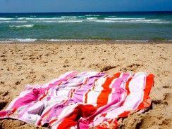 Mejores toallas de playa grandes baratas 2019.